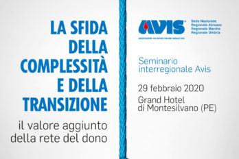 La locandina del seminario interregionale di Avis
